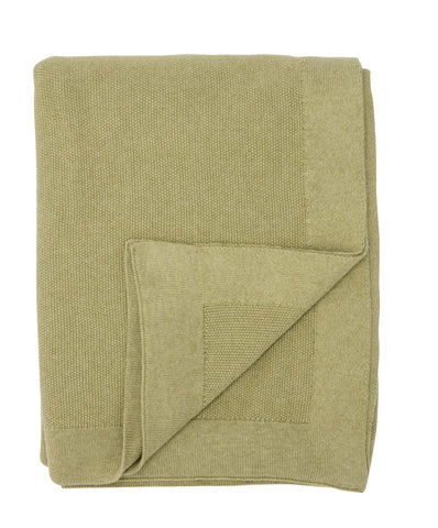 SeedStitch bedspread, light green