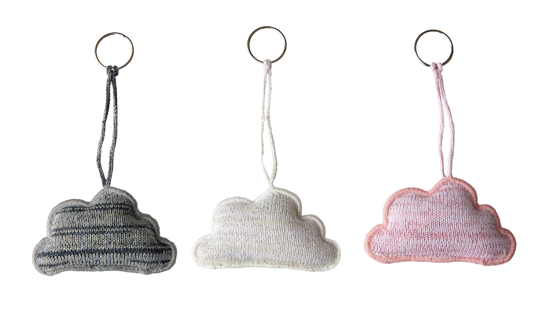 Key Ring, Cloud white