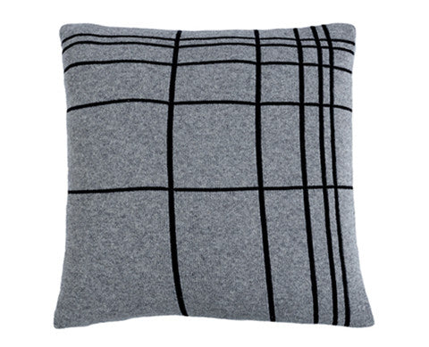 GRID cushion, grey