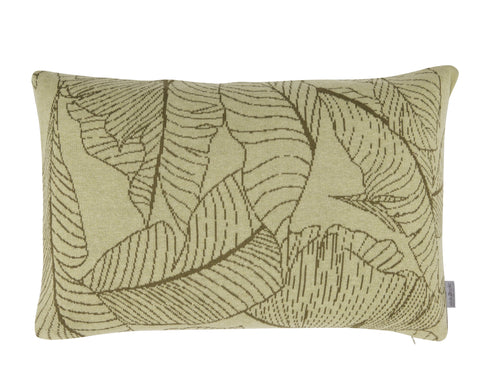 Leaf cushion, 40X60, green