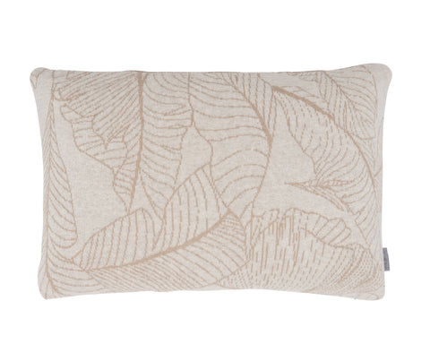 Leaf cushion, 40X60, sand