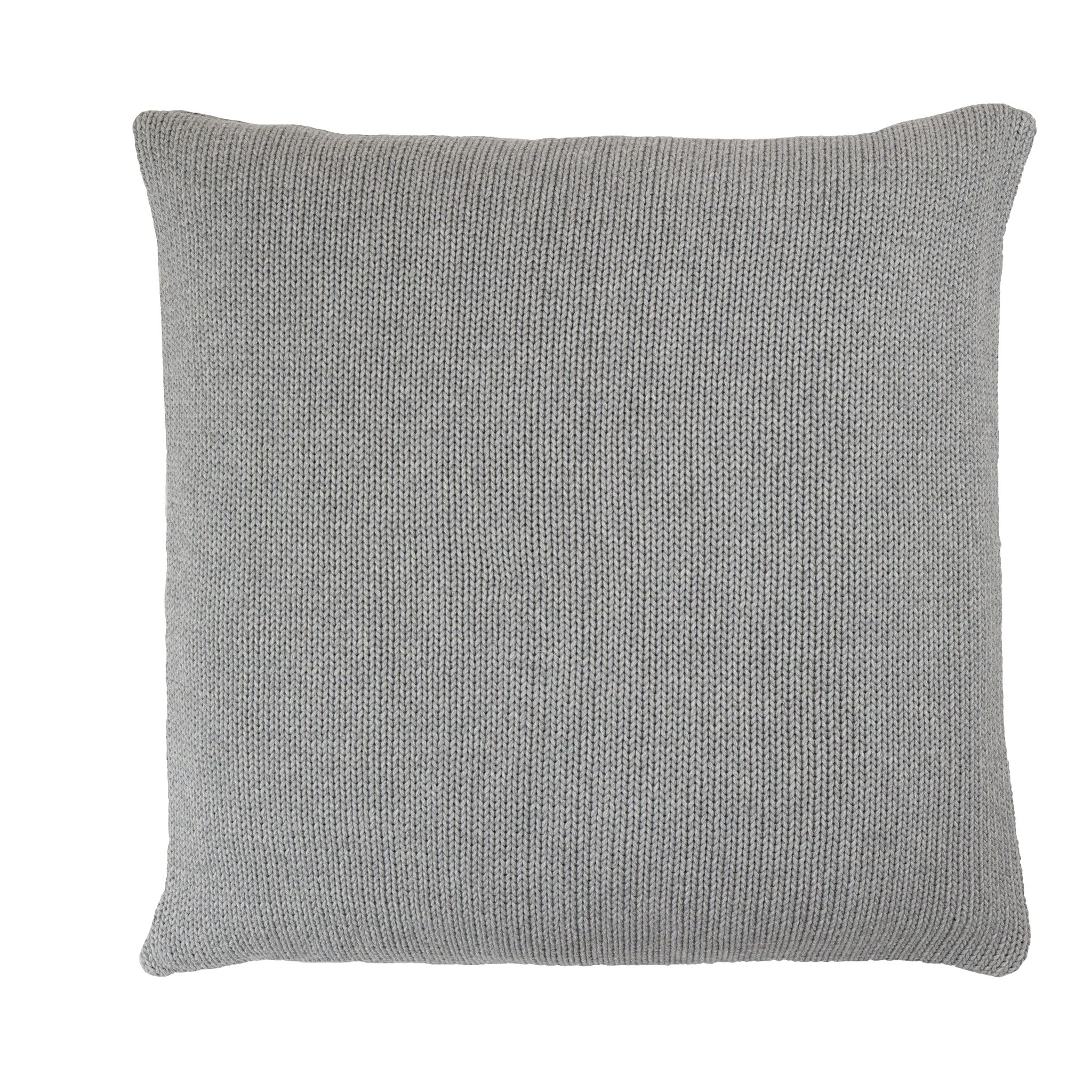Tactile Stripes cushion, light grey (back)