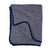 Wave blanket, grey/blue