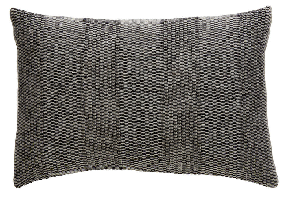 Weave Knit cushion, grey