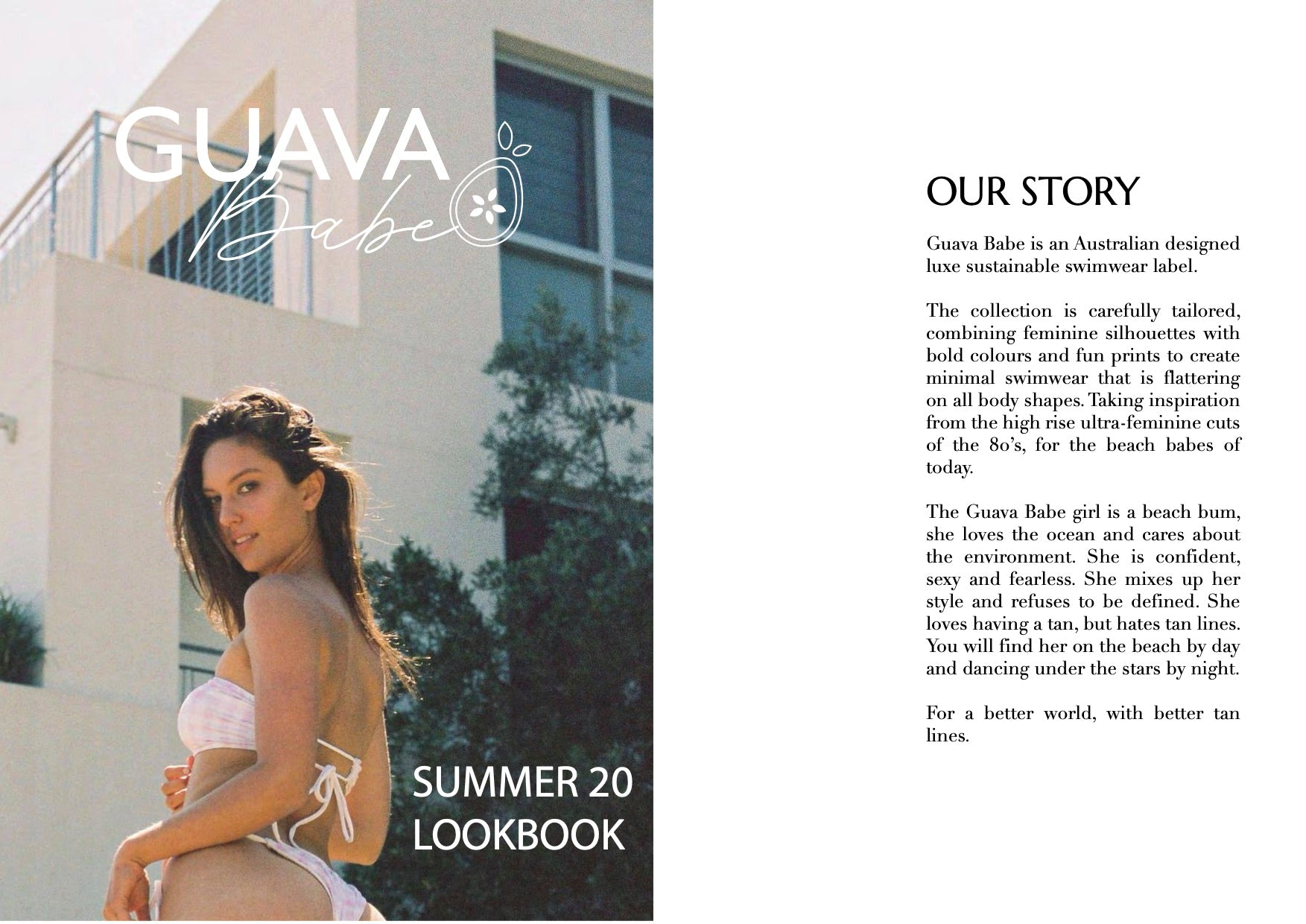 Guava Babe lookbook - our story