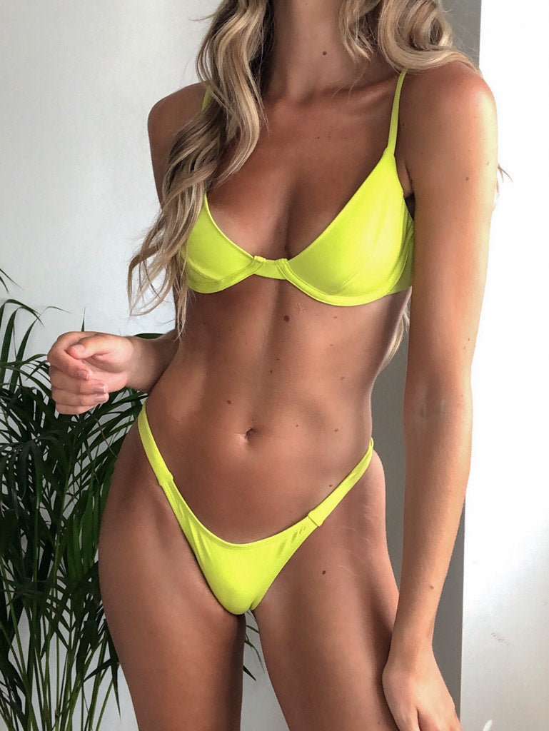 St Tropez Bottoms - Lime