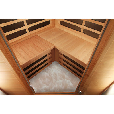Aspen Sauna Heated Floor