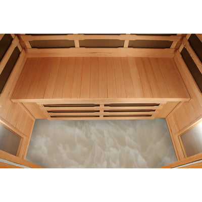 Banff Sauna Heated Floor