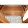 Huron Sauna Heated Floor
