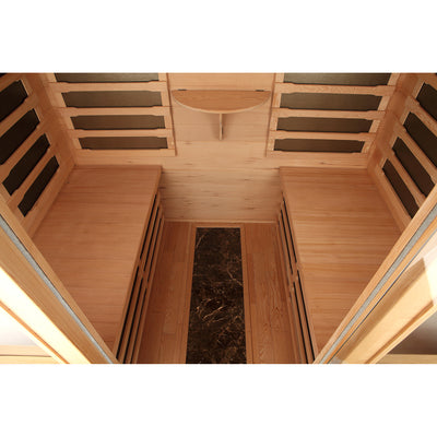 Inside the Whistler Sauna