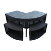 Corner Bar Set - Square Surround Furniture