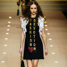 Load image into Gallery viewer, 'FASHION DEVOTION' Runway Special Edit Dress