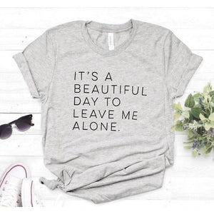 'It's A Beautiful Day' Sassy T-Shirt (6 Colors)-LovelyThreads.co