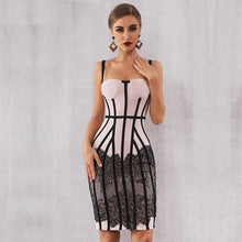 Load image into Gallery viewer, 'Meet Me On The Runway' Stunning Midi Dress-LovelyThreads.co