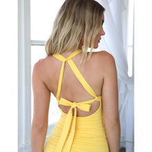 Load image into Gallery viewer, 'Don't Be Shy' Backless Halter Dress (4 Colors)-LovelyThreads.co