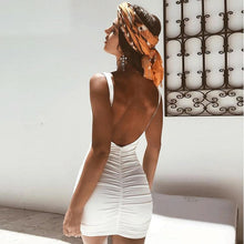 Load image into Gallery viewer, 'No Second Dates' Backless Summer Dress (Multi-Color)-LovelyThreads.co