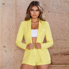 Load image into Gallery viewer, 'Like A Boss' Blazer & Shorts Set (Multi-Colors)-LovelyThreads.co