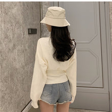 Load image into Gallery viewer, 'Harajuku' Belt + V-Neck Cute Knitted Sweater