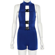 Load image into Gallery viewer, 'Space Age' New Utility Style Romper Playsuit