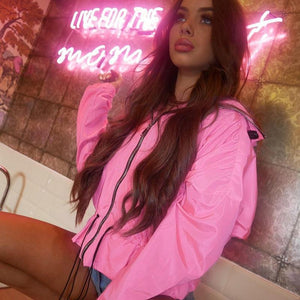 'Pink Flamingo' Street Fashion Jacket