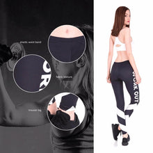 Load image into Gallery viewer, 'WORK OUT' Leggings For The Active Ones-LovelyThreads.co