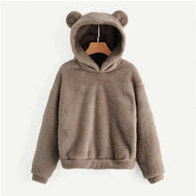 Load image into Gallery viewer, 'Bearer of Bad News' Cute Animal Hoodie-LovelyThreads.co