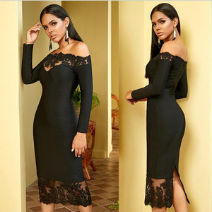 'Classic Bae' Stunning All Seasons Midi Dress