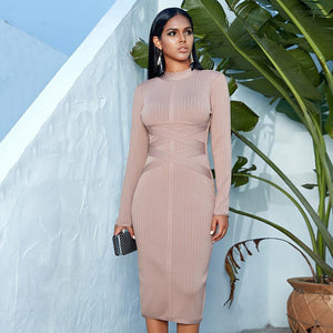 'Sophisticated Bae' Chic Midi Party Dress