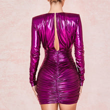 Load image into Gallery viewer, 'Candy Rain' Pretty In Purple Party Dress