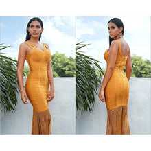 Load image into Gallery viewer, 'Say It Ain't So' Tassel + Bandage Midi (4 Colors)-LovelyThreads.co
