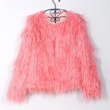 Load image into Gallery viewer, 'BUNNY' Faux + Fuzz Fur Jacket (10 Colors)