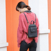 Load image into Gallery viewer, 'Big Things, Small Package' Mini Satchel/Backpack-LovelyThreads.co