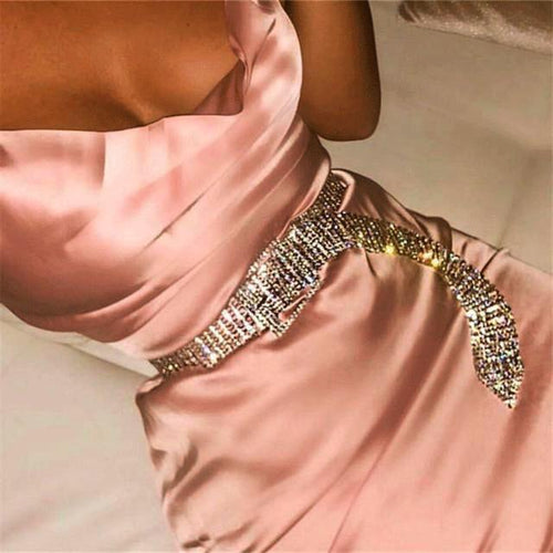 'Diamonds Are Forever' Luxury Waist Belt-LovelyThreads.co