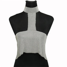Load image into Gallery viewer, 'All Eyes On Me' Blingy, Backless Crop Top-LovelyThreads.co