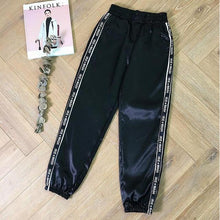 Load image into Gallery viewer, 'Irie Wash' Satin Sports Joggers (4 Colors)-LovelyThreads.co