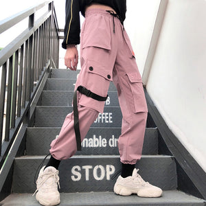 'Pink Panther' Street Fashion Pants-LovelyThreads.co