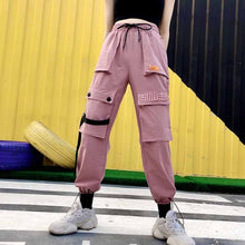 Load image into Gallery viewer, 'Pink Panther' Street Fashion Pants-LovelyThreads.co