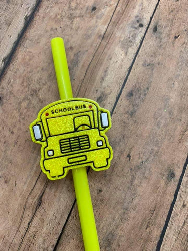 Bus Straw Topper Mold