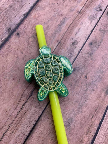 Turtle Straw Topper Mold