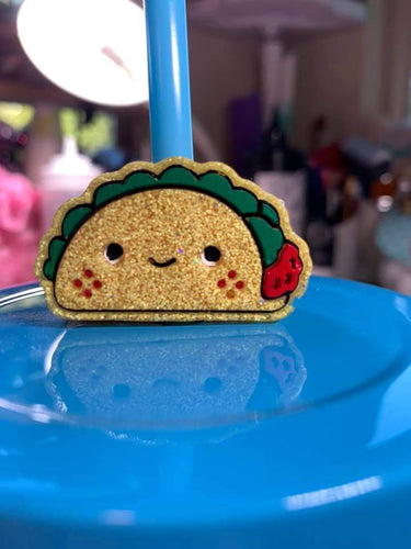 Taco Straw Topper Mold