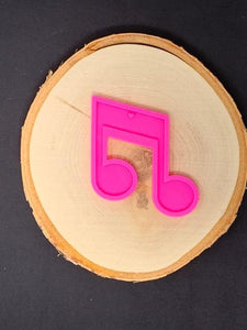 Music Note Mold