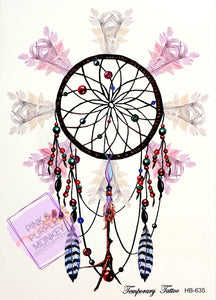 Dreamcatcher Tattoo - 8 x 5""
