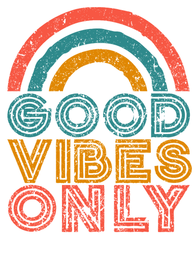 Good Vibes Only Waterslide