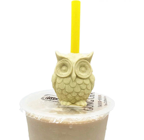 Owl Straw Topper Mold