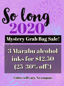 So Long 2020 Mystery Grab Bag 3 Marabu Alcohol Inks