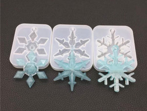 3 Snowflake Mold Bundle
