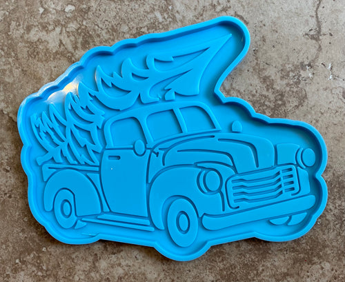 Truck & Christmas Tree Coaster Mold