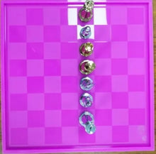 Load image into Gallery viewer, Board & Checkers Mold Set (2 pieces)