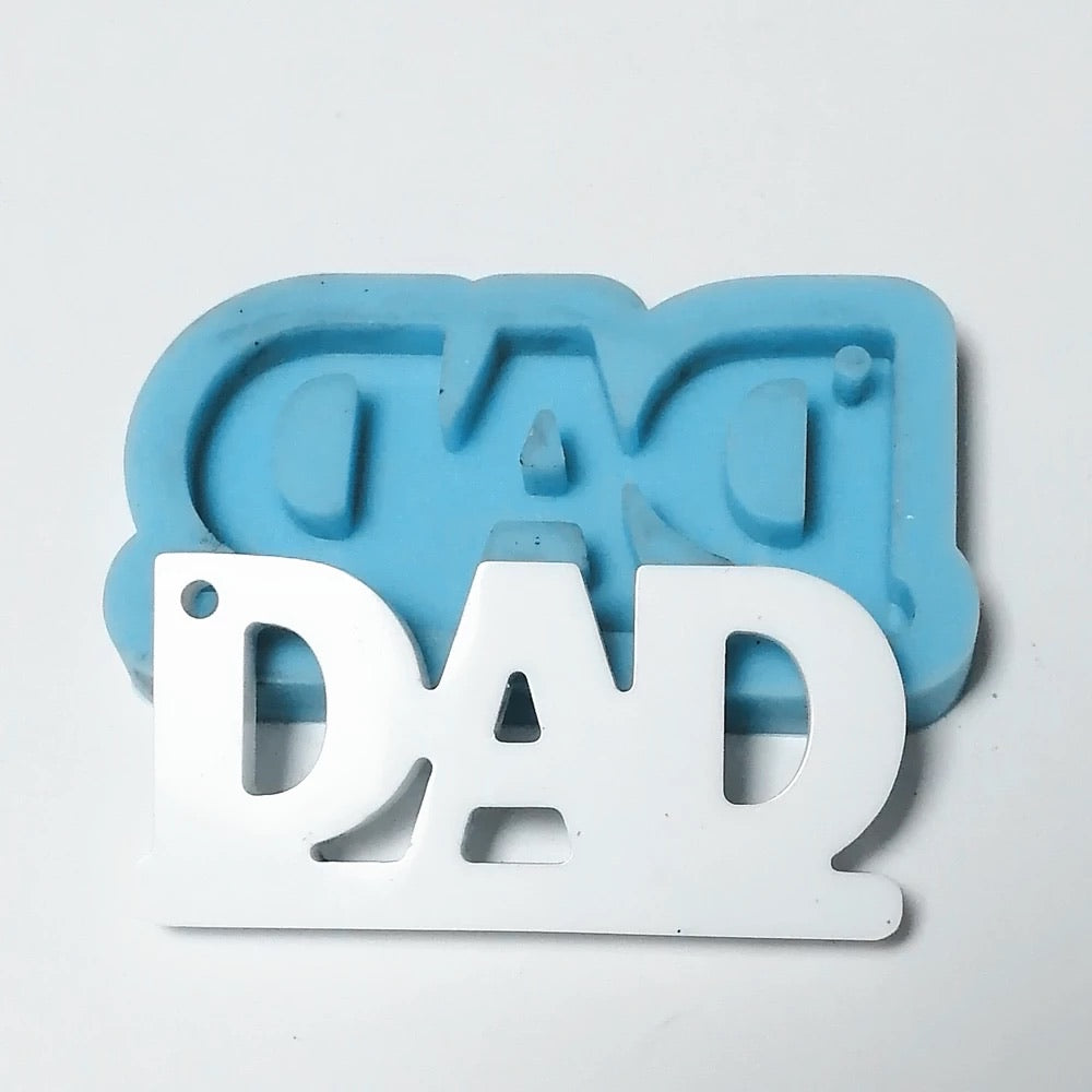 Dad keychain mold