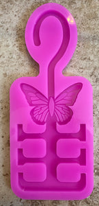 Butterfly Mask Holder Mold
